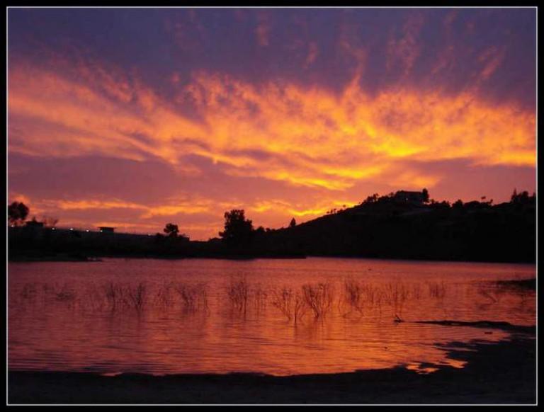 Sunset at Lake Murray | © Bisayanlady/Flickr