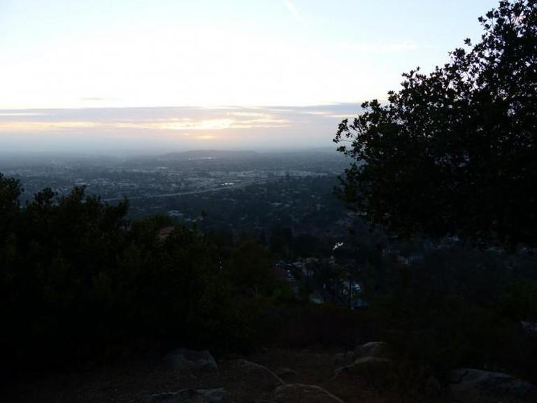 Mount Helix sunset | © geoff dude/Flickr