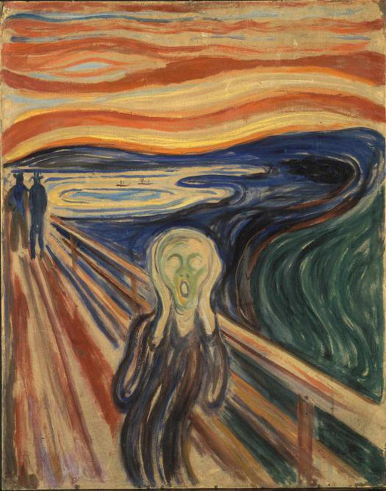 The Scream, 1910