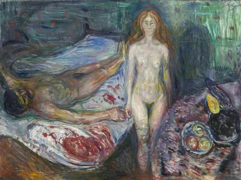 The Death of Marat, 1907 | © Munch Museum