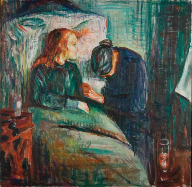 The Sick Child, 1907 | © Munch Museum
