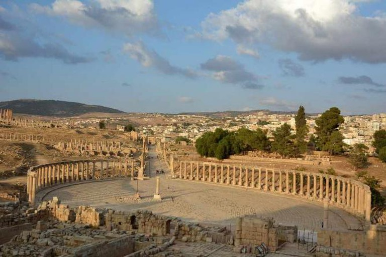 The oval forum, Jerash
