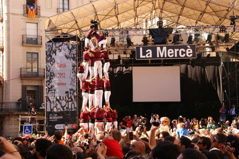 Barcelona – La Merce- Sant Jaume – Castellers