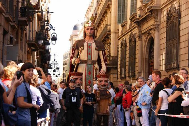 La Merce – Sant Jaume – Giants (Gegants)