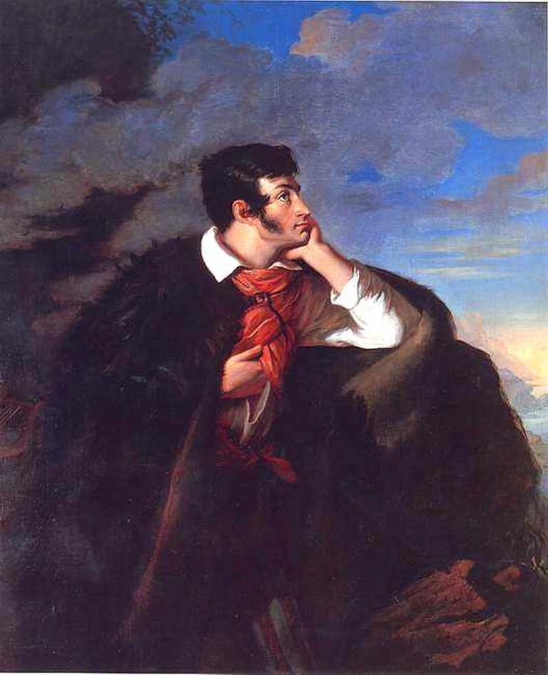 A painting of Adam Mickiewicz