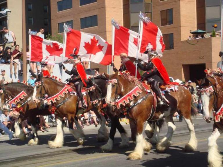 calgary stampede – parade