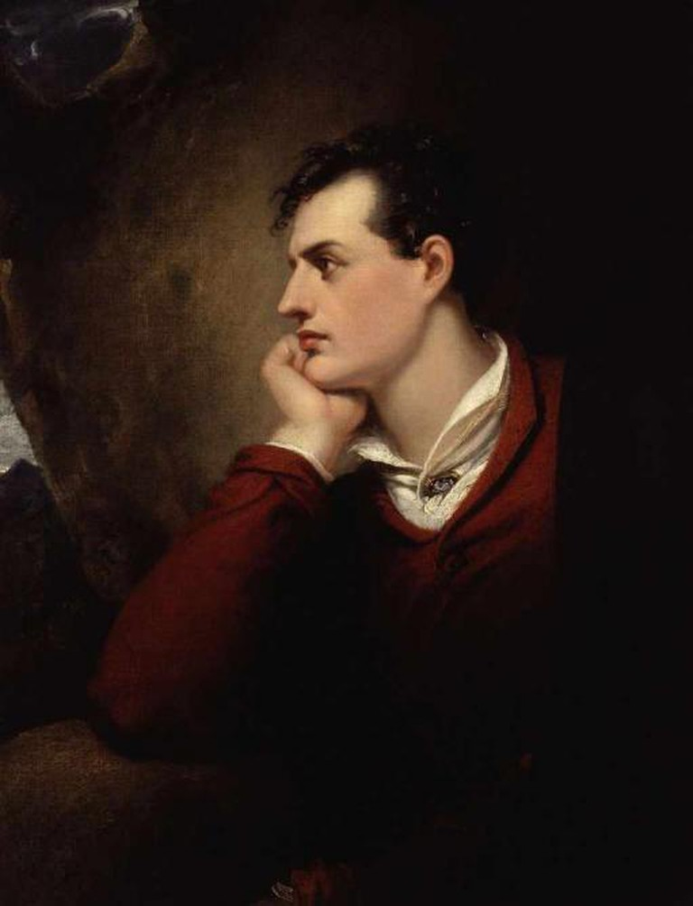 Portrait of Byron | ©Richard Westall/WikiCommons
