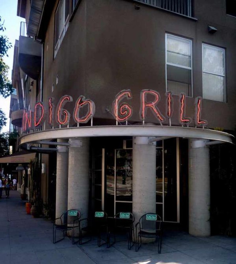 Indigo Grill entrance | © Joe Wolf/Flickr
