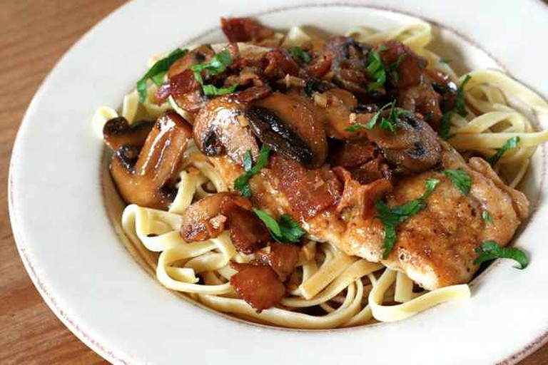 Chicken Marsala | ©Annie/Flickr