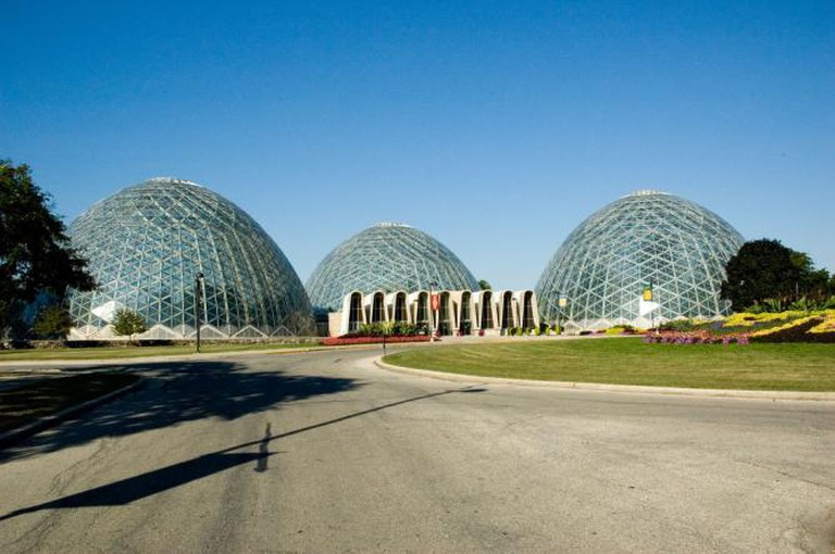 MItchell Park Horticulture Conservatory, 'The Domes'