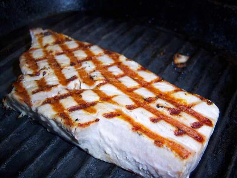 Griddled tuna | © Blammermouth/WikiCommons
