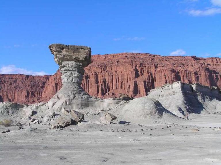 Ischigualasto or Valle de la Luna © M Bustos/Wikicommons