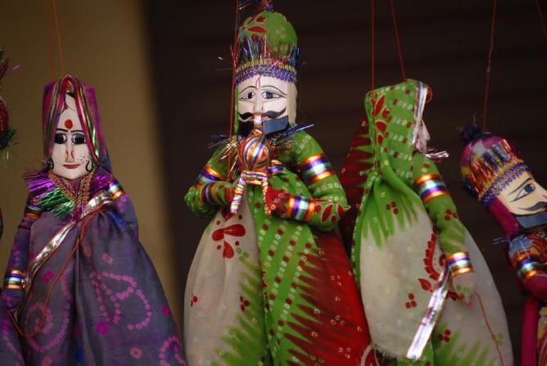 Puppets or Kathputtlis   © Kristian Bertel