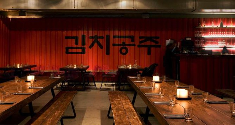 Interior of Kimchi Princess