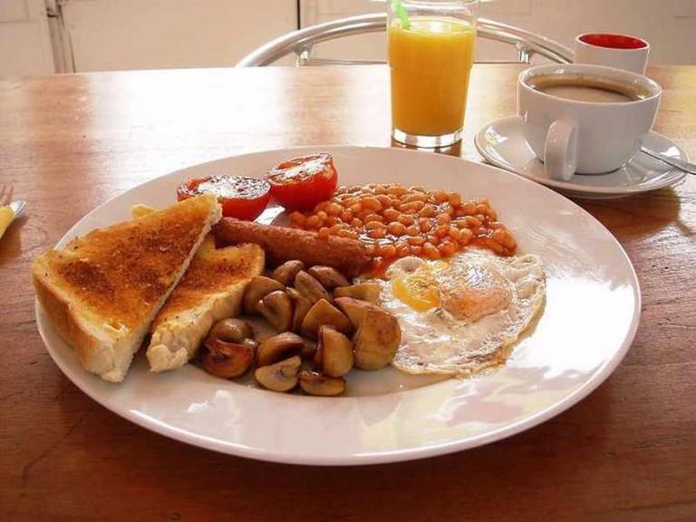 Full English Breakfast | © tm/WikiCommons