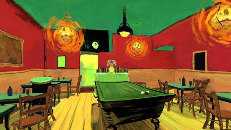 The Night Café Courtesy of FIVARS