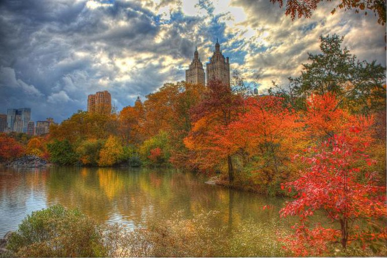 Fall foliage in Central Park, NYC | © Anthony Quintano/Flickr