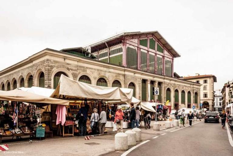 Piazza del Mercato Centrale // Firenze. Italia | © Julio César Mesa/Flickr