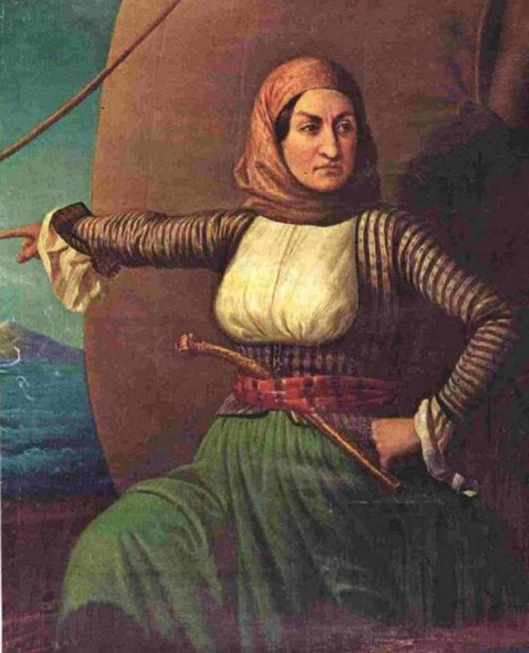 Laskarina Bouboulina | © Sreejithk2000/WikiCommons