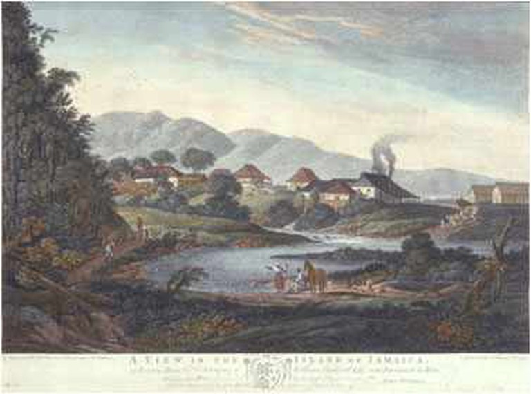 Historic illustration of Roaring River Park |©Wikimedia