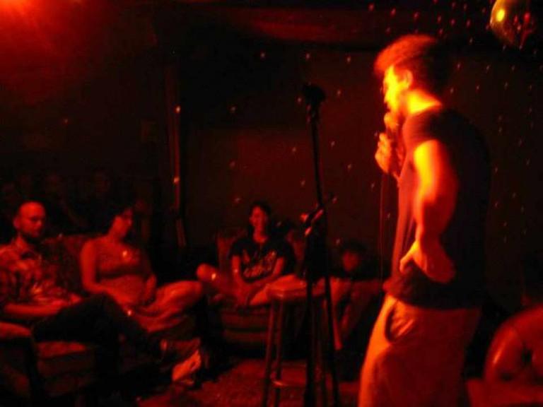 Santiago Angel at Night Sweats | Courtesy of Night Sweats