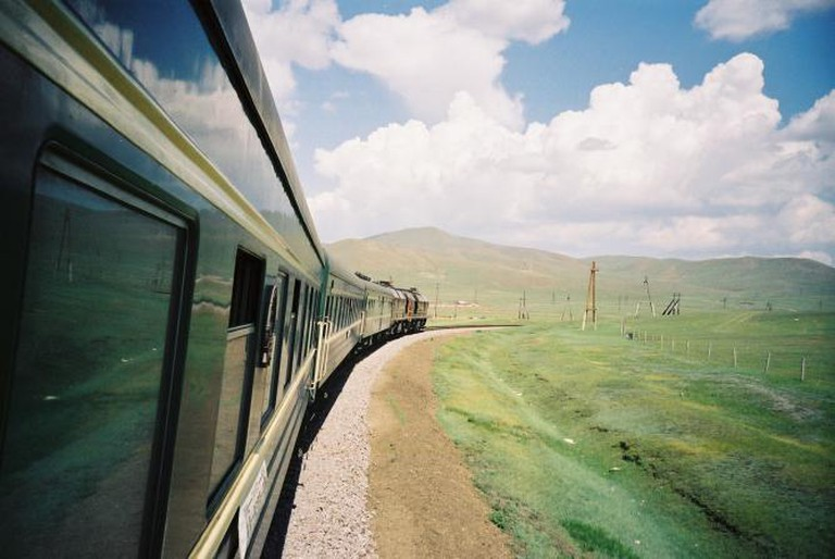 The Trans-Siberian Express © Boccaccio1/Flickr