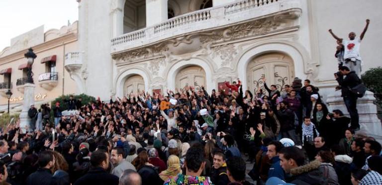 Revolution - Avenue Bouguiba