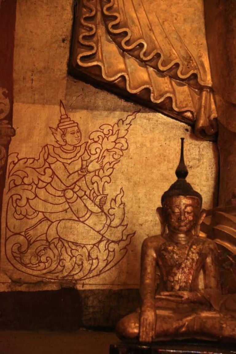Bagan, Buddha monument © Hans ARosbach / Flickr