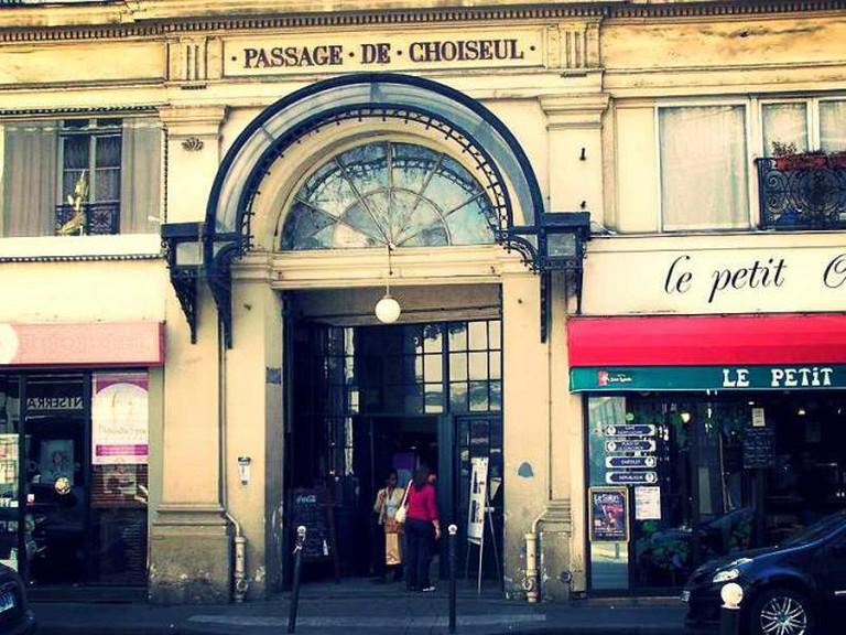 Entrée du Passage Choiseul | © LPLT/WikiCommons
