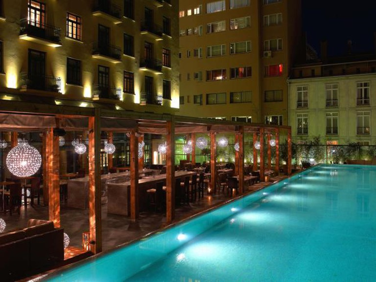 Terrace Pool at Park Hyatt, Istanbul