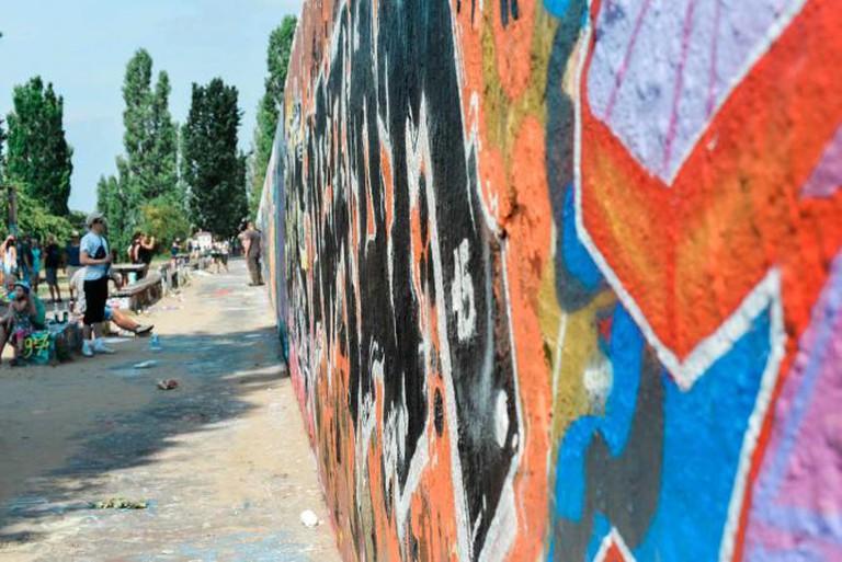 Mauerpark Graffiti | © Sarah Kabatt