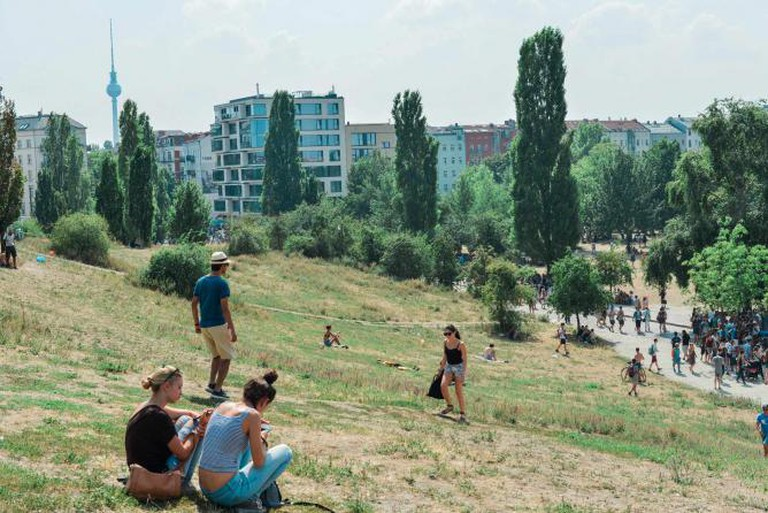 Hanging out at Mauerpark