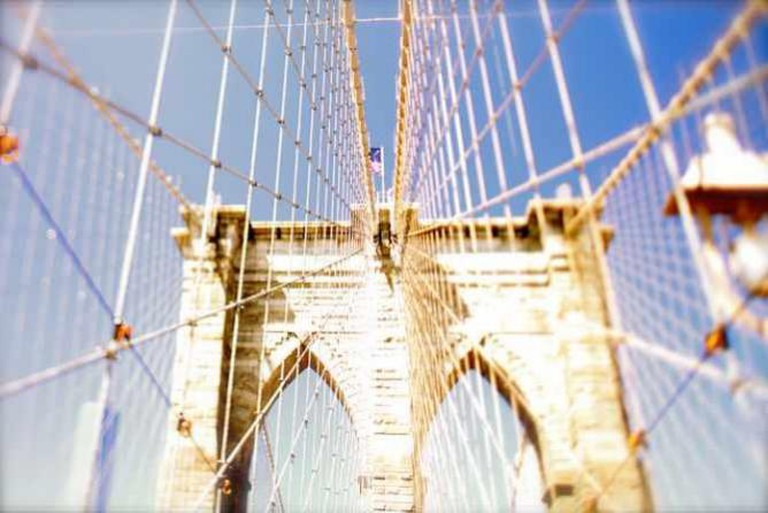 Brooklyn Bridge in Tilt-Shift | © Daniel X. O'Neil/Flickr