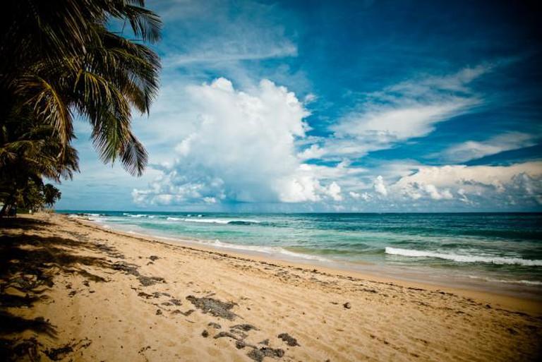 Caribbean beach, San Juan