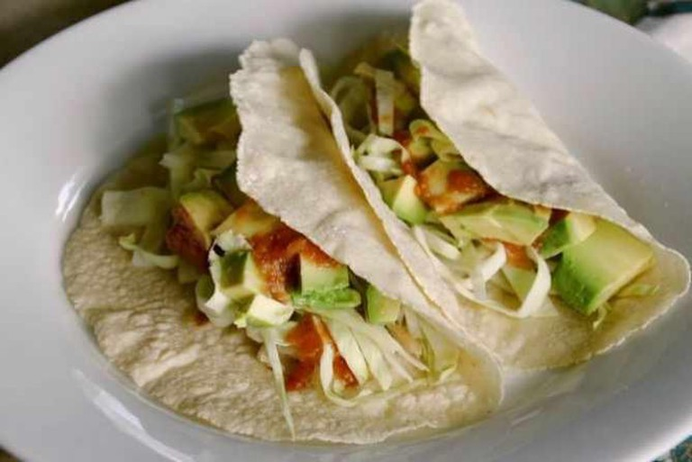baja fish tacos | © Stacy/Flickr