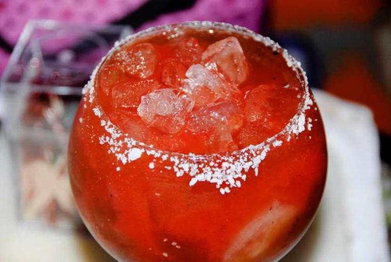 Bloody Mary at 3 Crow Bar