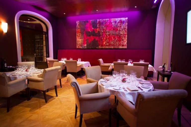 Algodon's dining room
