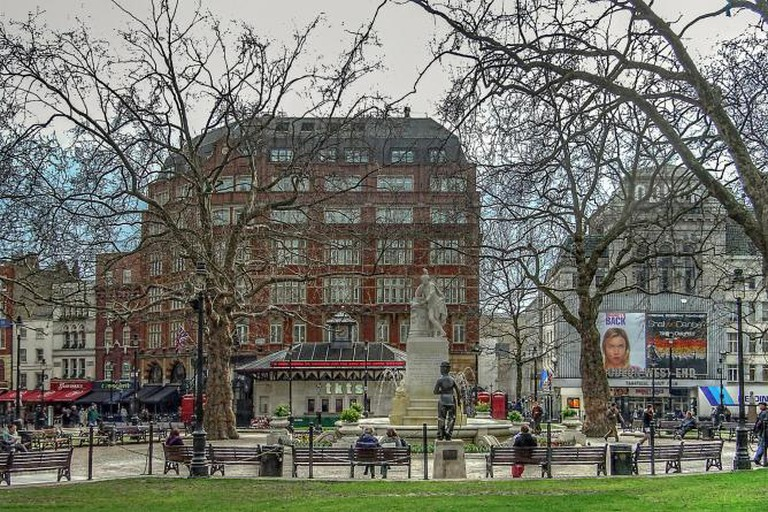Leicester Square Gardens | © Peter/Flickr