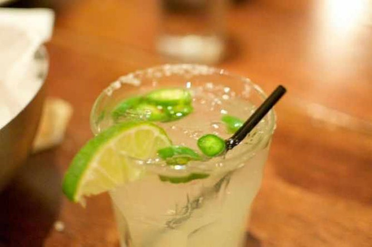 A jalapeño margarita | © Taavi Burns/Flickr