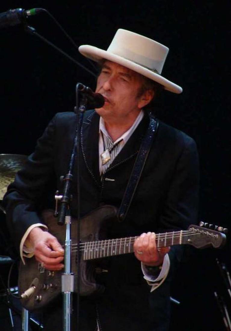 Bob Dylan at the Azkena Rock Festival, 2010 | © Alberto Cabello from Vitoria Gasteiz/WikiCommons
