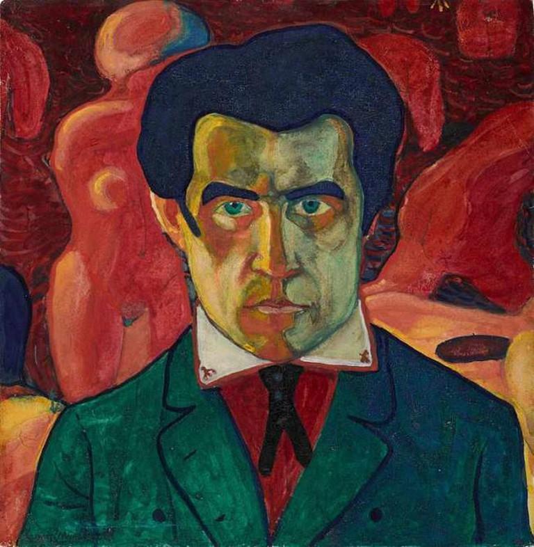 Self-Portrait, Kazimir Malevich, 1908 | © WikiCommons