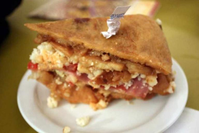 Tortilla pintxo, Txirimiri | © Krista/Flickr