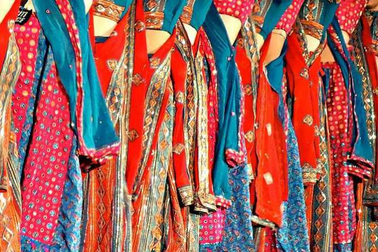 Indian dancer clothing | © Kevin Dooley/Flickr