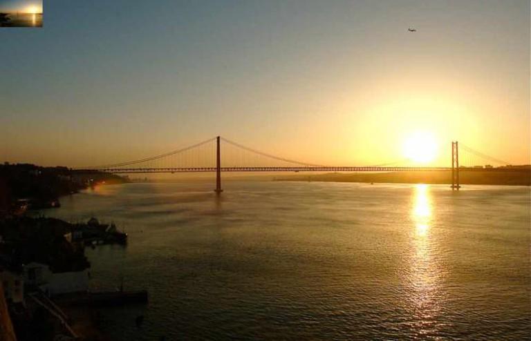 Lisbon sunset | © Pedro Ribeiro Simoes/Flickr