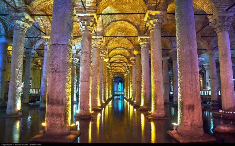 Istanul, basilica cistern