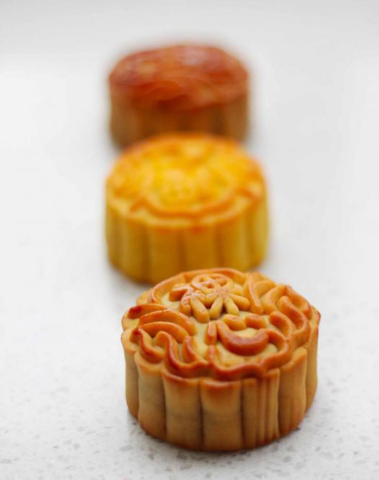 Mooncakes | Courtesy of Nicky Barber (Lotuses & Lanehouses)