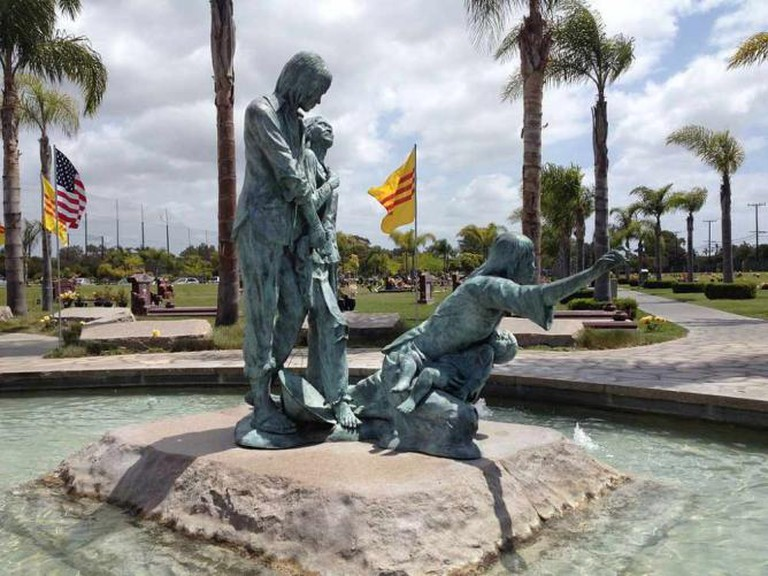 Vietnamese Boat People Memorial in Westminster, CA