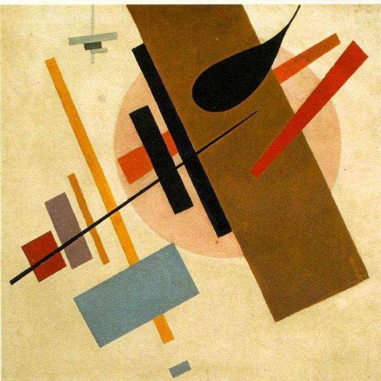 Kazimir Malevich, Suprematism,1916, Museum of Art, Krasnodar | © WikiCommons