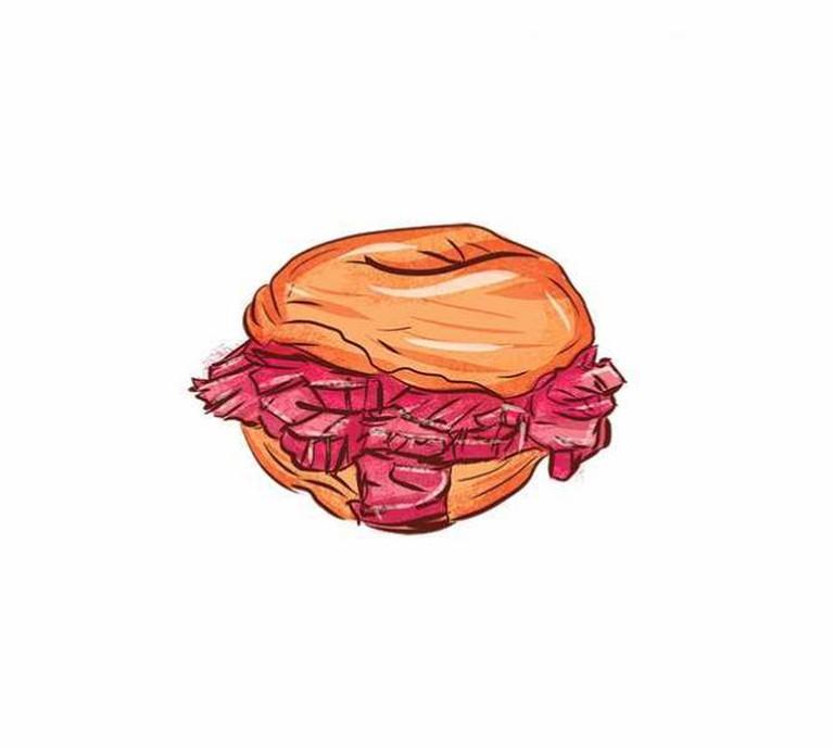 Salt Beef Bagel