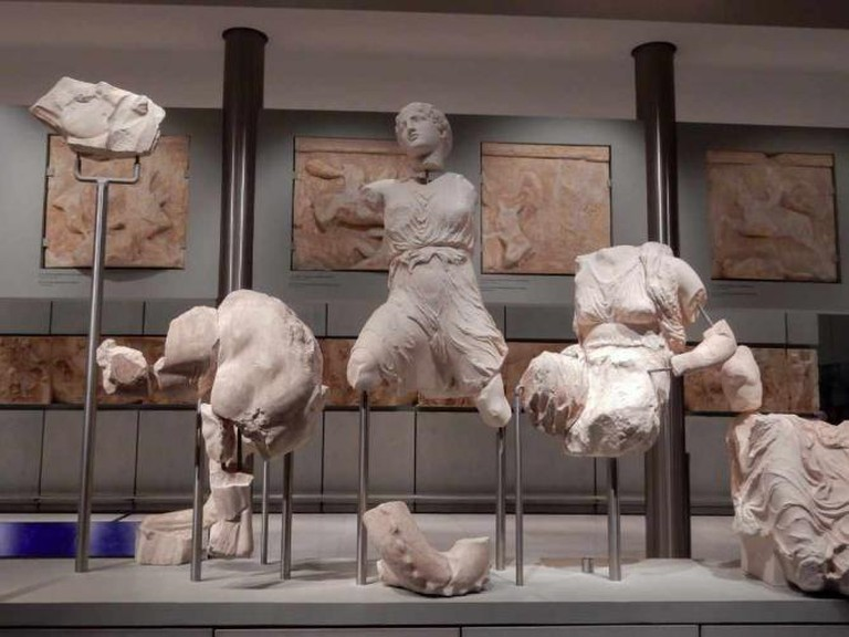 New Acropolis Museum: Metopes of the Parthenon